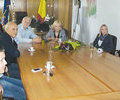 Ministrul Gabriela Szabo a felicitat autoritatile prahovene pentru investitiile facute in infrastructura sportiva