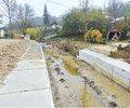 Lucrari in grafic in localitatile prahovene afectate de inundatii