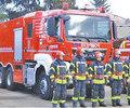 Parcul auto al pompierilor prahoveni dotat cu o noua autospeciala pentru stingere
