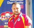 Portarul Bogdan Radulescu dublu campion european la minifotbal