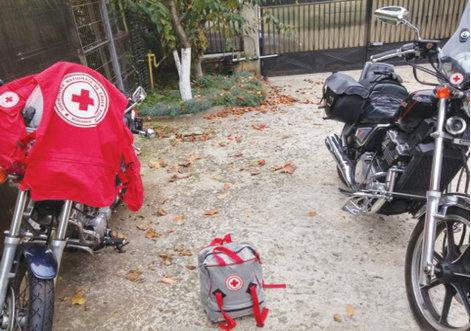 Motociclistii pot deveni voluntari pentru Crucea Rosie